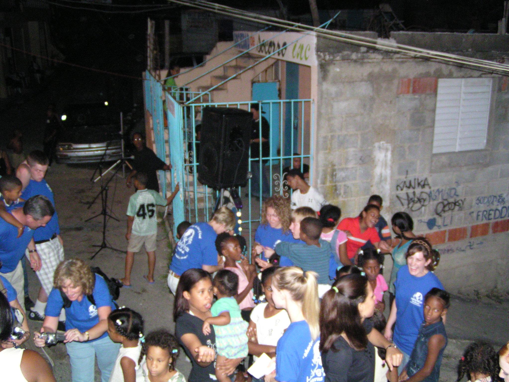 Street Ministry Santo Dominigo