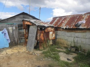 Old houses in Los Algadones